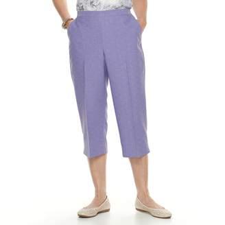 Alfred Dunner Petite Studio Pull-On Capri Pants