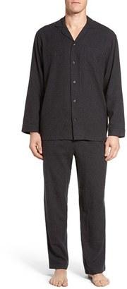 Men's Nordstrom Men's Shop '824' Flannel Pajama Set $59.50 thestylecure.com