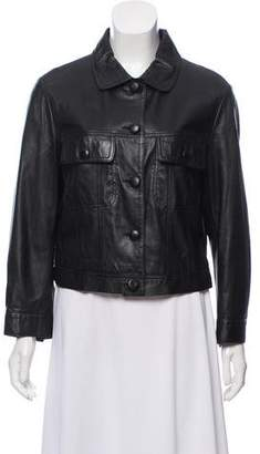 See by Chloe Lightweight Leather Jacket