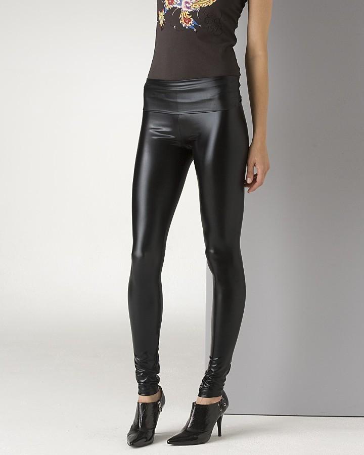 Members Only Women's Liquid Leather Leggings
