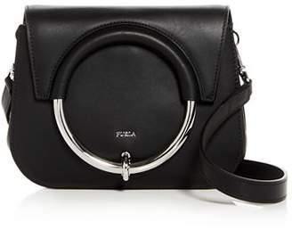 Furla Margherita Mini Leather Convertible Crossbody