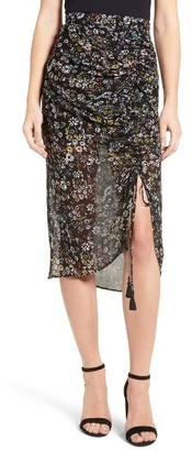Women's Rebecca Minkoff Romy Floral Print Skirt $138 thestylecure.com