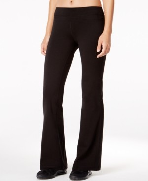 Ideology Flex Stretch Bootcut Yoga Pants, Created for Macy's