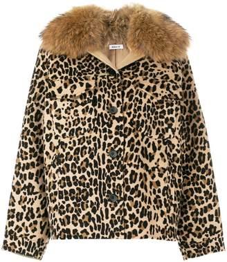 P.A.R.O.S.H. leopard print jacket