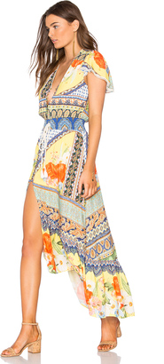 FARM Maria Flower Cropped Dress $347 thestylecure.com
