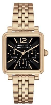 Women's Marc Jacobs Square Vic Bracelet Watch, 30Mm $250 thestylecure.com