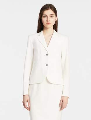 Calvin Klein two button cream suit jacket