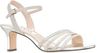 Nina Low-Heel Quarter-Strap Sandals - Nelena