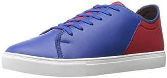 Armani Exchange A|X Men's Lycra Pu Lace Sneaker Fashion