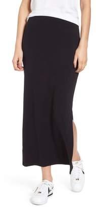 Stateside Side Slit Midi Skirt