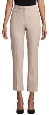 Ellen Tracy Straight Cropped Pants