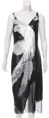 Cushnie et Ochs Embellished Midi Dress w/ Tags
