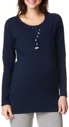Noppies Amber Henley Maternity/Nursing Tee