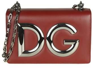 271d625abddf at Italist · Dolce   Gabbana Shoulder Bag In Bordeaux Color