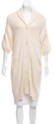 Ralph Lauren Wool & Cashmere-Blend Longline Cardigan