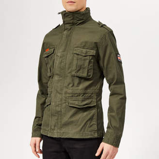Superdry Men's Classic Rookie Military Jacket