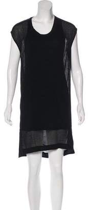 Helmut Lang Draped Mini Dress