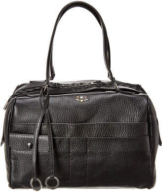 Zadig & Voltaire Twister Leather Duffel Bag