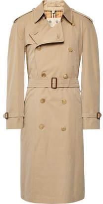 Burberry Cotton-Gabardine Trench Coat - Beige