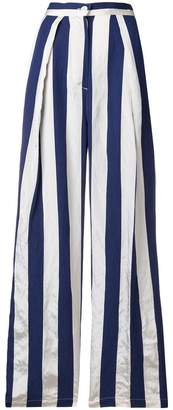 Aspesi striped high-rise palazzo pants