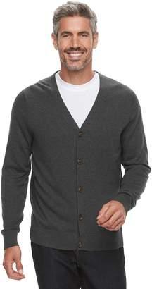Croft & Barrow Men's Fine-Gauge Cardigan Sweater