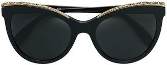 Alexander McQueen Eyewear oversized cat eye sunglasses