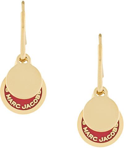 Marc JacobsMarc Jacobs logo disc earrings