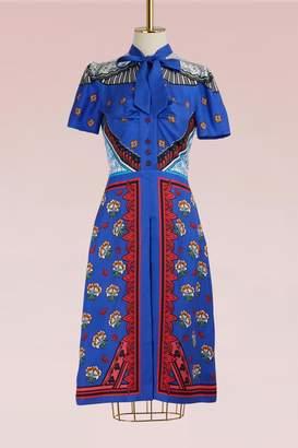 Mary Katrantzou Belote Silk Dress