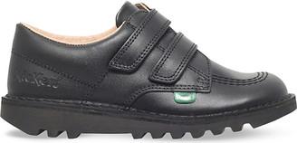 Kickers Kick lo leather shoes 2-7 years