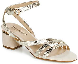 JB Martin MAEVA women's Sandals in Gold