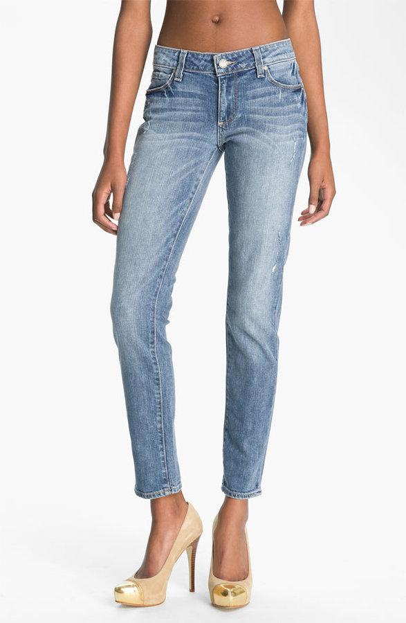Paige 'Skyline - Ankle Peg' Skinny Stretch Jeans (Beachwood)