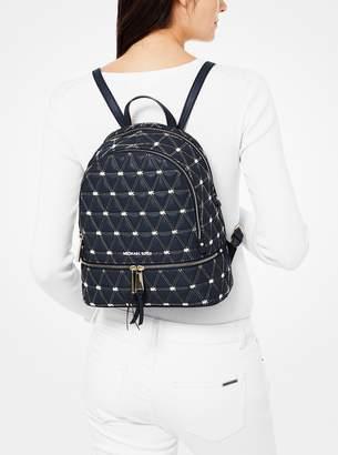 fa74bc3b3cc4 MICHAEL Michael Kors Rhea Medium Quilted Leather Backpack
