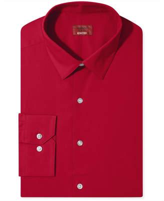 Alfani Slim Fit + Stretch Men Dress Shirt