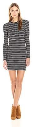 ATM Anthony Thomas Melillo Women's Engineered Stripe Dress