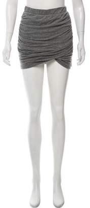 Pam & Gela Knit Mini Skirt