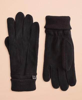 Brooks Brothers Deer Suede Gloves