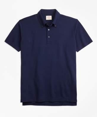 Brooks Brothers Cotton Jacquard Polo Shirt