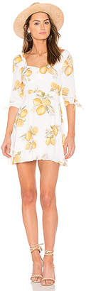 For Love & Lemons Limonada Mini Dress in White $193 thestylecure.com