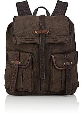 Campomaggi Men's Canvas Backpack - Gray