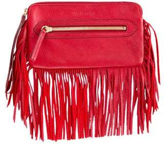 Ralph Lauren Fringed Leather Clutch