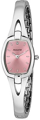 Accurist レディースピンクダイヤルステンレススチールDial Watch lb1520p