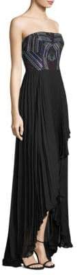 Parker Black Mandy High-Low Dress