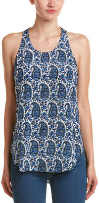 Derek Lam 10 Crosby Silk Tank Top