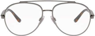 Dolce & Gabbana Silver DG1303 Pilot Glasses
