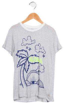 Stella McCartney Boys' Striped Graphic T-Shirt
