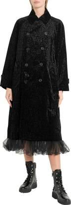 Noir Kei Ninomiya Printed Velvet Coat