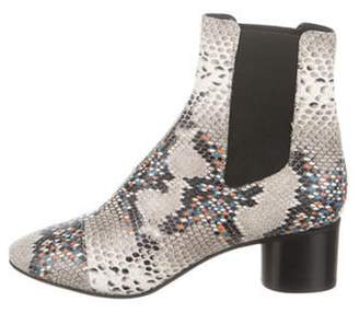 Isabel Marant Danelya Embossed Ankle Boots w/ Tags Grey Danelya Embossed Ankle Boots w/ Tags