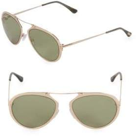 Tom Ford 18MM Aviator Sunglasses