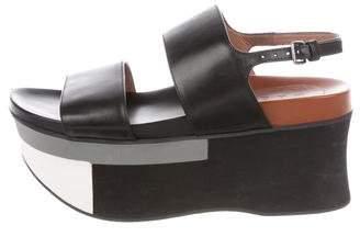 Marni Platform Sandal Wedges