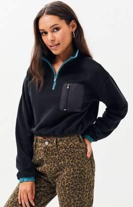 LA Hearts Whistler Polar Half Zip Sweatshirt
